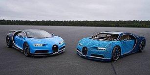 1 Milyondan Fazla LEGO Parçasından Oluşan Bugatti Chiron