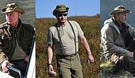 Putin Tatilde! İşte Rus Liderin Sibirya Tatilindeki Instagram Fenomenlerini Kıskandıracak Pozları