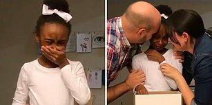 En Güzel Doğum Günü Hediyesi: Koruyucu Ailesi Tarafından Evlat Edinildiğini Öğrenen Kızın Duygu Dolu Anları