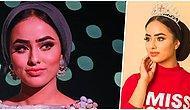 Müslüman Öğrenci Miss England Yarışmasında Türban Takarken Finalist Olmayı Başaran İlk Kadın Oldu!