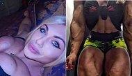 14 Yaşından Beri Vücut Geliştirme Sporu Yapan Rus Kadının Ağızları Açık Bırakacak Kadar İri Vücudu!
