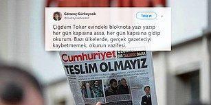 Cumhuriyet Gazetesinden Dört Ayrılık Haberi... Çiğdem Toker 'Hoşça Kalın' Dedi