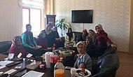 Makam Odalarında Son Durum: Kırıkkale Yahşihan İlçesi Sosyal Yardımlaşma Vakfı Müdürünün Eşinden Kısır Partisi
