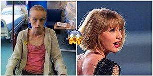 Ölümle Burun Buruna Olmasına Rağmen Taylor Swift'e Duyduğu Sevgi Sayesinde Hayata Tutunan Kadın