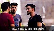 Diyarbakır'da 'Bir Gece Sizde Kalabilir Miyim?' Deneyi