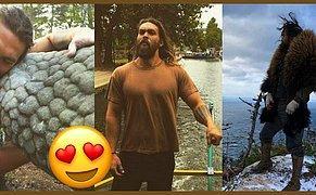 23 Enfes Görselle Game Of Thrones'un Yakışıklı Khal Drogo'su: Jason Momoa 😍