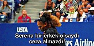 Serena Williams'a ABD Açık Finalinde Çifte Standart: 'Kazanmak İçin Hile Yapmam, Kaybetmeyi Tercih Ederim!'