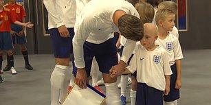 Futbol Sadece Futbol Değildir: Harry Kane'den Beyin Tümörü İle Savaşan Çocuğa Muhteşem Moral!
