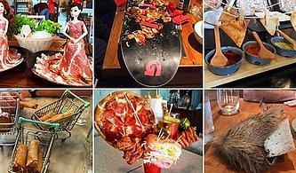 Çılgınlıkta Sınır Tanımayan Restoranların Şaşkınlık Uyandıran 13 Sıra Dışı Yemek Sunumu