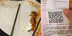 Çin'de Yemeğin İçinden Çıkan Farenin Bedeli Ağır Oldu: Restoran Zinciri Borsada 190 Milyon Dolar Kaybetti!