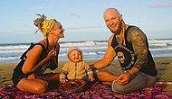 Adanın Ortasında Rüya Gibi Bir Hayat Yaşayan Musmutlu Modern Hippi Ailesi