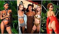 Rihanna 'Kötü Kızlar' İçin Tasarladığı İç Çamaşırı Koleksiyonuyla New York Moda Haftası'na Damga Vurdu!