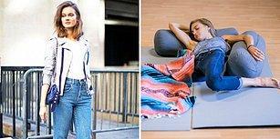 İdeal Kot Pantolona Sahip Olmak İçin Ortaya Çıkan Çok Rahatsız Bir Trend: Pantolonla Uyumak