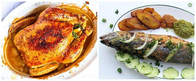 Balık ve tavuk seçiminde dikkat! Çiftlik tavukları ve balıklarından uzak durulmalı, doğal ortamında yetişen tavuk ve deniz balığı seçilmeli.