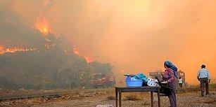 Antalya Yangına Teslim: Söndürülemeyen Alevlerin Etkisi Adrasan'a Uzandı