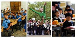Kültürler Ayrı Heyecanlar Aynı! Dünyanın Dört Bir Yanından İlk Ders Gününün Fotoğrafları