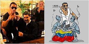 Sosyal Medyadan Tepki Yağdı: Açlık ve İşsizlikle Mücadele Eden Venezuela'nın Devlet Başkanı Maduro, Nusr-Et'te Görüntülendi