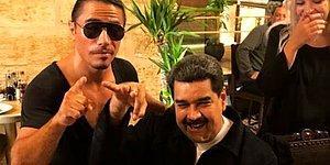 Halkı Açlık Çekerken Nusret'te Yemek Yiyen Venezuela Devlet Başkanı: 'Türkiye'de Bana Sultan Maduro Diyorlar'