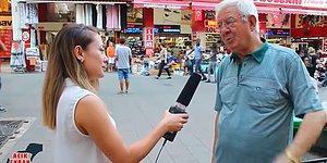 'Kriz Var Mı?' Sorusuna Cevap Vermeye Korkan Vatandaş: 'Fazla Konuşmayalım, Alıverirler Adamı'