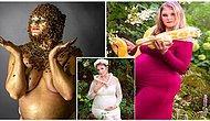 Vahşi Hayvanlarla Yaptığı Fotoğraf Çekimleriyle Ne Kadar Cesur Olduğunu Kanıtlayan Hamile Kadın
