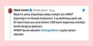 Yaptığı Paylaşımla Tepkileri Üzerine Çeken Haluk Levent AHBAP Başkanlığını Bıraktı