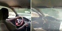 Yaptığı Kazadan Sonra Direksiyonu Elinde Kalan Ancak Araçtan İnerken El Frenini Çekmeyi İhmal Etmeyen Adam