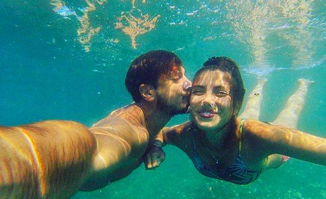 11. En sevilen çiftlerden biri olan Deniz Baysal ve Barış Yurtçu, bu hafta evlilik yolunda ilk adımı attı. 💍