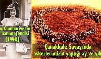 Türk Tarihinde Kısa Bir Gezintiye Çıkıp Kültürel Anlamda Çok Tat Alacağınız 29 Fotoğraf