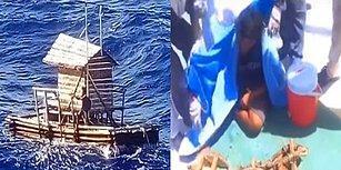 Okyanusta Ölüm Kalım Savaşı: Balıkçı Kulübesiyle Akıntıya Kapılan Genç 49 Gün Sonra Kurtarıldı