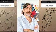Takipçilerinin İstekleri Doğrultusunda Karikatür Çizerek Hayal Gücü Çıtasını Arşa Taşıyan Emrah Ablak'ın Enfes Çalışmaları