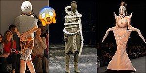 Görünce Bütün Asabınızı Bozup 'Olmaz Olsun Böyle Moda!' Dedirtecek Birbirinden Absürt 25 Kıyafet Tasarımı