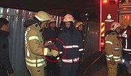 Yangında Zarar Görmesin Diye Türk Bayrağını Cebine Koyan İtfaiyeci