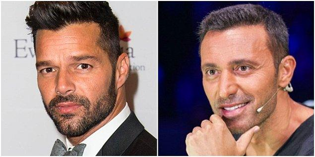 Ricky Martin ve Mustafa Sandal...