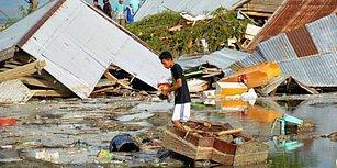Endonezya'da Önce Deprem Sonra Tsunami: Can Kaybı 400'e Yaklaştı