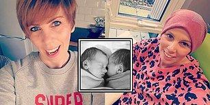 İkizlerini Emzirirken Yaşadığı Sıkıntı Sonucu 3. Evre Meme Kanseri Olduğunu Öğrenen Anne!
