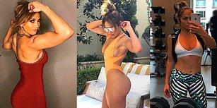 Kaslı Instagram Paylaşımıyla Görenleri Bir Kez Daha Hayran Bırakan 49'luk Jennifer Lopez!
