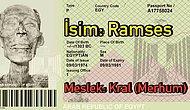 Büyük Ramses'in 1974'te Pasaport Sahibi İlk Mumya Olarak Tarihe Geçiş Hikâyesini Duymuş muydunuz?