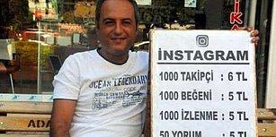 Sokakta Sosyal Medya Hesapları İçin Takipçi ve Beğeni Satan Adanalı Girişimci
