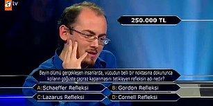 Kim Milyoner Olmak İster'de Çıkan 250 Bin Liralık Soruların Kaçını Doğru Bileceksin?