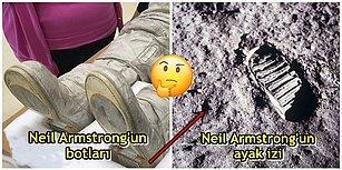 Bu İşte Bir Terslik Var: Neil Armstrong'un Ay'daki Ayak İziyle İlgili Komplo Teorisi Çürütüldü!