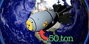 Kıyamet Fragmanı: Dünyanın En Büyük Atom Bombası Hemen Üstümüzde Patlarsa Hayatta Kalabilir miyiz?