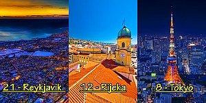 Bir Şehrimiz de Listede! Dünya'nın Suç Oranı En Düşük ve En Güvenli 23 Şehri