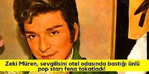Magazin Tarihinin En Büyük Sırlarından: Sevgilisini Ünlü Kadın Pop Starla Basıp Tokatlayan Zeki Müren!