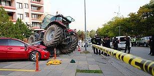 Ankara'da Traktör Paniği: 'Terör Boyutu Yok, Olayın Faili 2007'den Bu Yana Psikolojik Tedavi Görüyor'