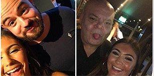 Twitter'da Yeni Meydan Okuma! Barda Eğlenirken Etrafındaki Kellerle Selfie Çekmeye Başlayan Kadın