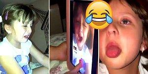 Bakıcısı Abur Cubur Yemesine İzin Vermediği İçin Annesine Sahte Ağlama Videosu Gönderen Ufaklık