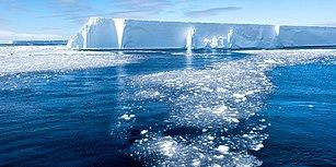 Antarktika'daki Eriyen Buzullardan Gelen Ürkütücü Sesler