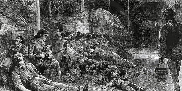 1. 100.000.000 kişi - Jüstinyen veba salgını (541-542)