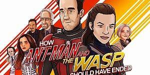 Ant-Man and the Wasp Aslında Nasıl Bitmeliydi?