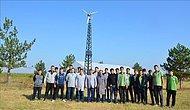 Birlikten Güç Doğdu! Rüzgar Gülü ile Elektrik Üreten Öğrenciler Okulun Bahçesini Ücretsiz Aydınlatıyor